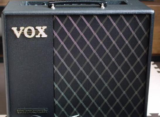 o Cambio. VOX VT40X con Pedalera