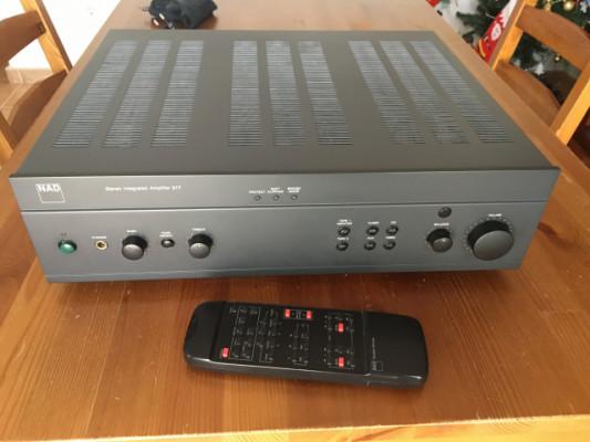 Amplificador HI FI NAD 317