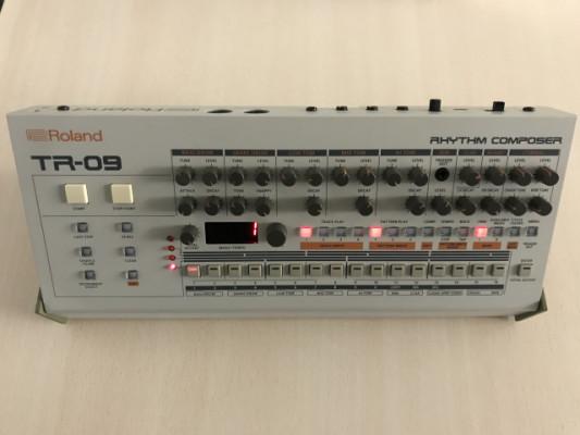 Cambio Roland Boutique TR09 por TR08