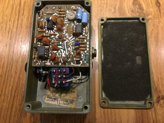 MXR micro chorus analogico vintage 80's