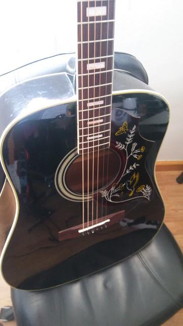 Vendo/cambio Acústica Aria Custom Hummingbird Made in Japan
