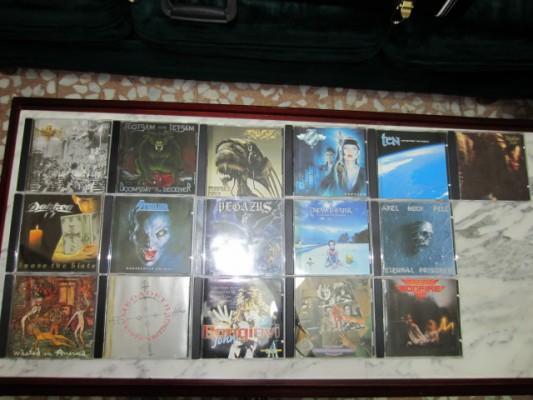 VARIOS CD,S DE ROCK,METAL..