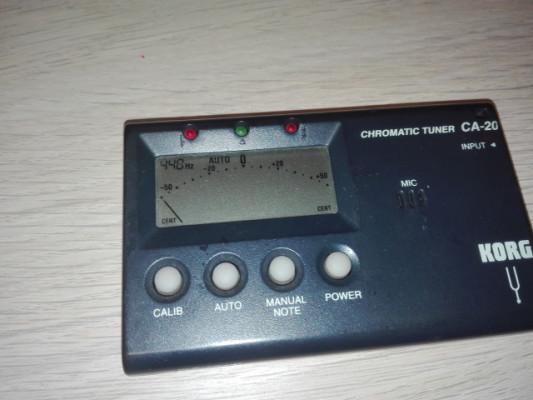 Afinador Korg CA-20