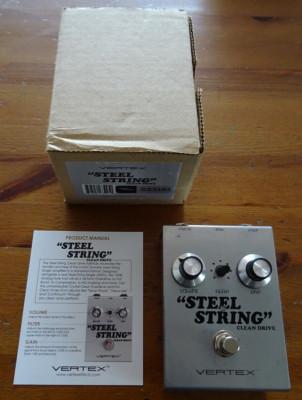 Vendo Vertex Steel String & Booster perfectos