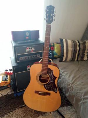 Acustica Fender CD-140s Nat