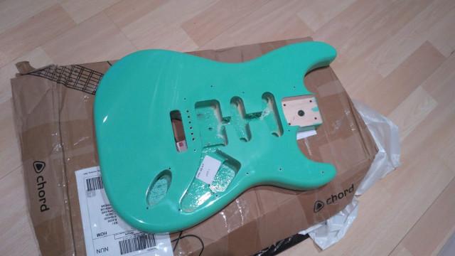 Cuerpo tipo Stratocaster (envío incluido)