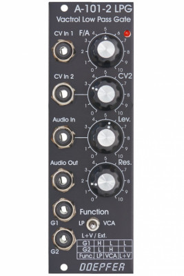 modulo eurorack doepfer lpg a-101-2 vintage vactrol low pass gate vca