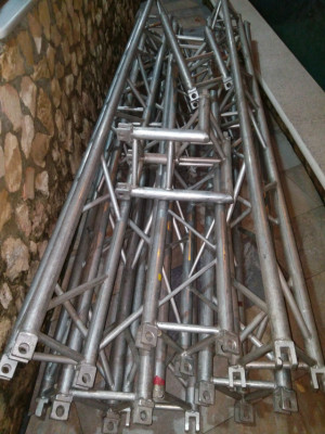 Truss Triangular 30*30 Fuerte union con burlón.