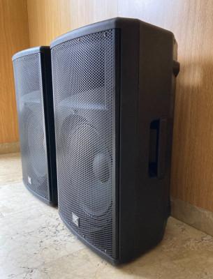 """Pareja Altavoces PA EK Audio 15"""" 350W/1500W"""