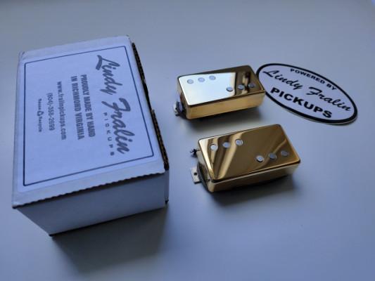Lindy Fralin Twangmaster Humbucker Gold SET