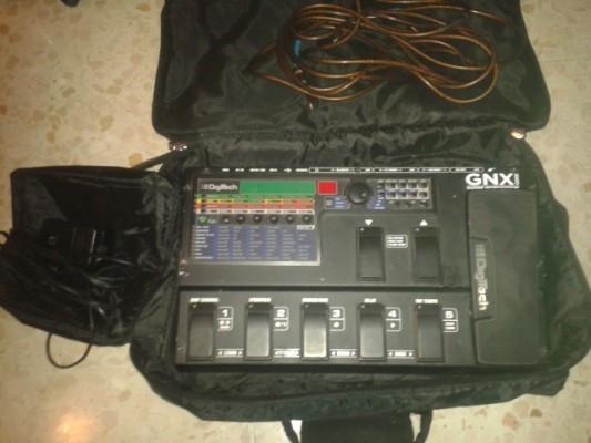 o cambio Digitech GNX3000