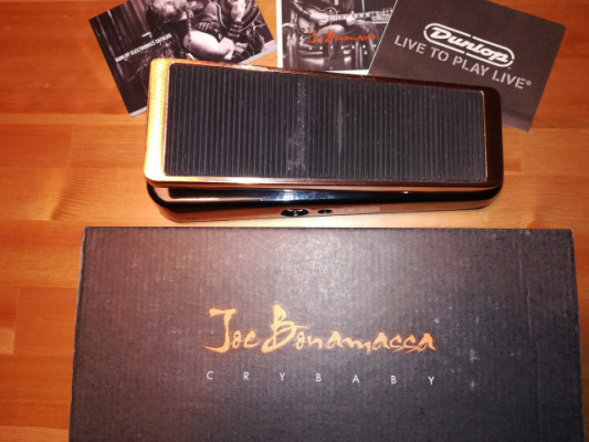 CAMBIO Dunlop Cry Baby JB95 Joe Bonamassa Signature