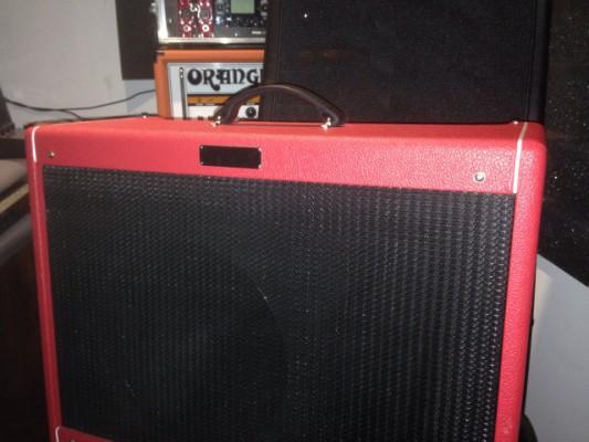 Amplificador fender a valvulas Hot Rod de Luxe III