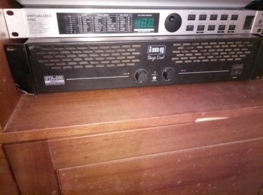 Amplificador 600w + modulador efectos