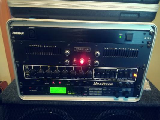 Mesa Boogie Studio Preamp + 2:50 + G-force