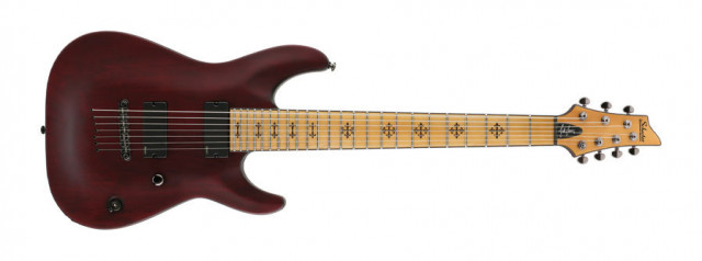 o cambio Schecter Jeff Loomis vampyre red tune o matic EMG 7