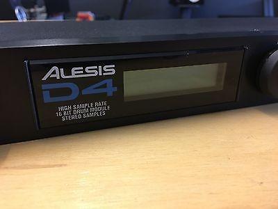 Modulo de sonidos para bateria ALESIS D4