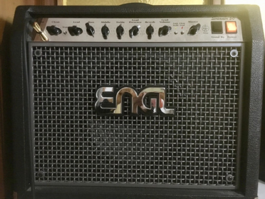 ENGL SCREAMER 50 + su pedalera Z5