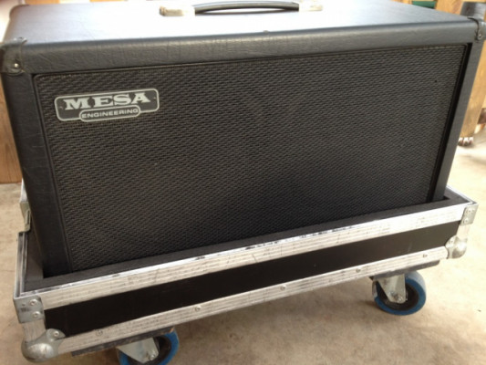 "Pantalla mesa boogie 2 x12"" + flight case"