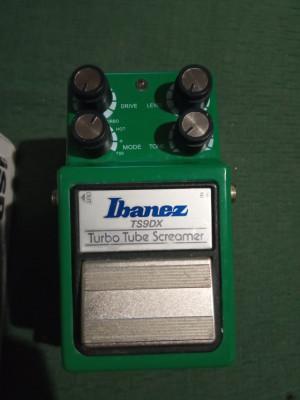 Ibanez Tubescreamer TS9DX + Marshall GV-2 + Zoom G1