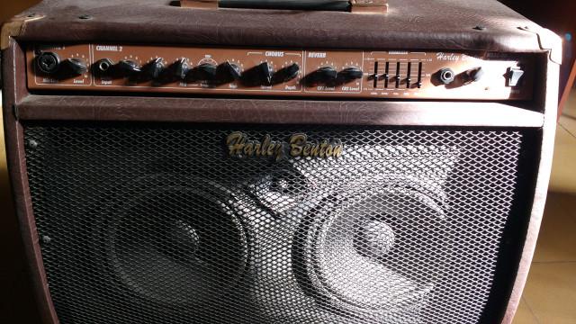 Amplificador Harley Benton HBAC-80