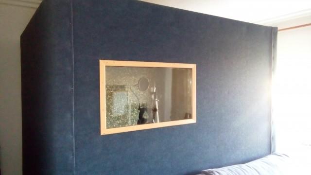 Cabina estudio de grabación