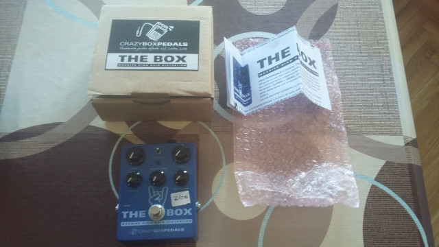 "Pedal CRAZYBOXPEDALS ""The Box"""