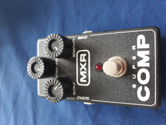 Pedal compresor MXR supercomp