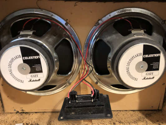 Pareja Celestion G12T 4 ohm (Made in England)