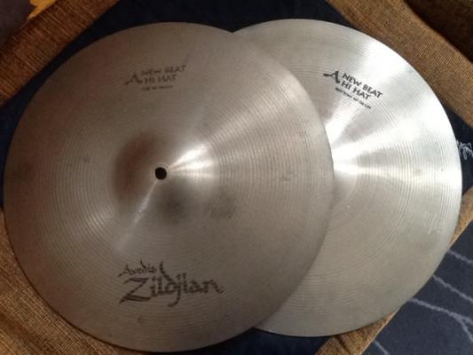 "Hi Hat Avedis Zildjian New Beat 14"""
