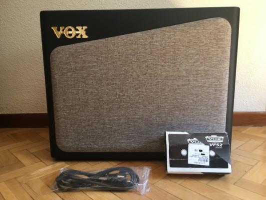 Amplificador VOX AV60 Analógico Previo a Válvulas + Pedal