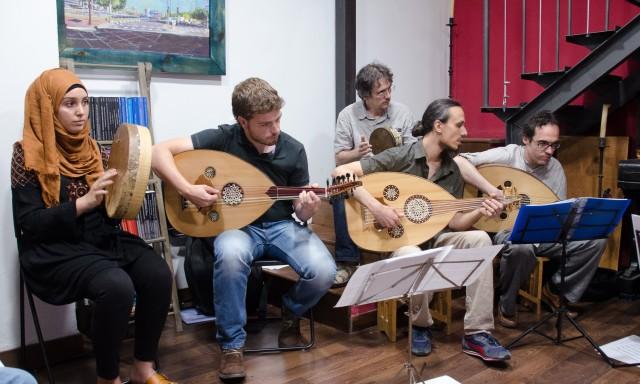 Talleres de música modal árabe, medieval y sefardí