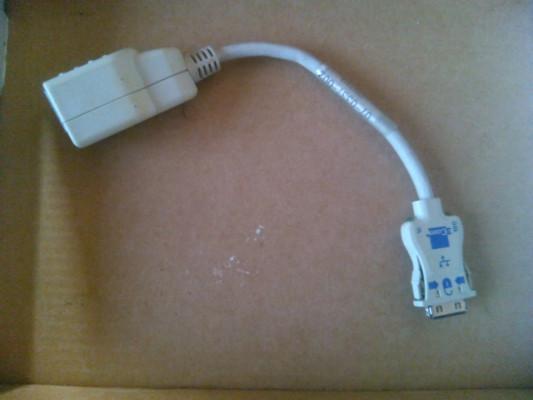 CABLE ETHERNET PCMCIA LAN RJ45 3COM