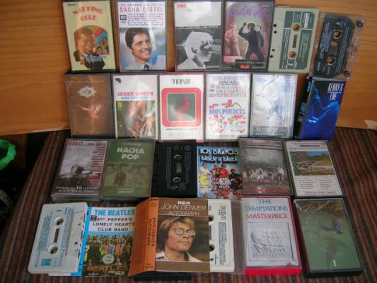 Cintas cassette originales. Todos los estilos.