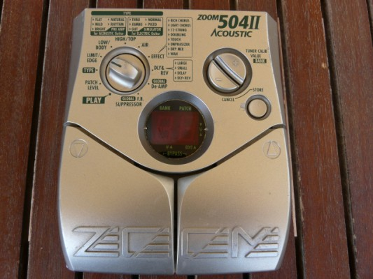 zoom 504 ll acoustic effects