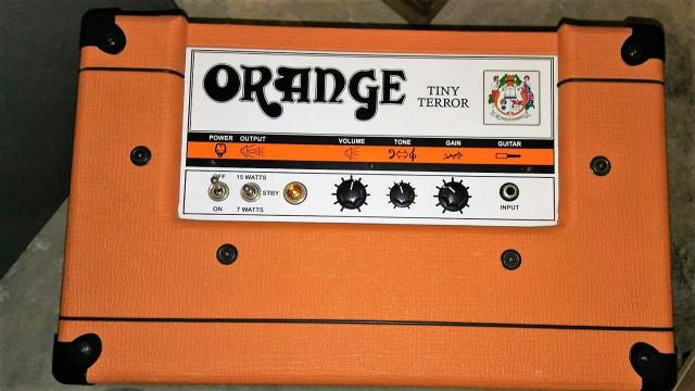 Amplificador guitarra Orange Tiny Terror