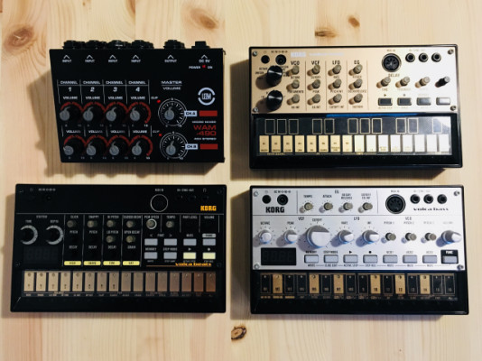 Korg Volca Keys, bass y beats