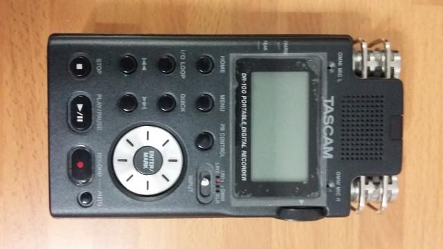 Grabadora Digital Tascam DR100