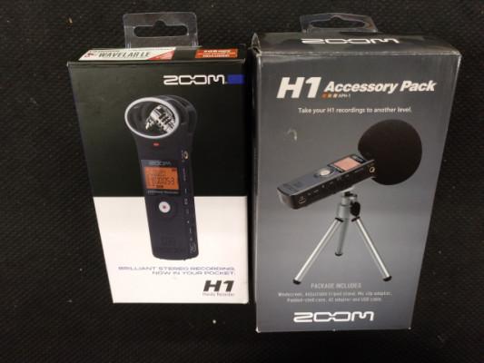 ZOOM H1 + Accesorios
