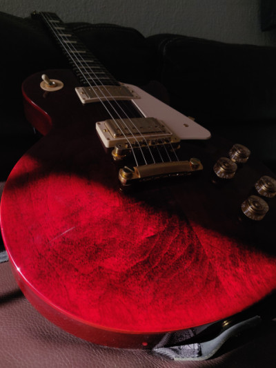 Gibson Les Paul Studio 2016 Traditional Wine Red Gold