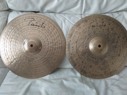 "Hi hat 13"" Paiste dark energy signature Mark1"