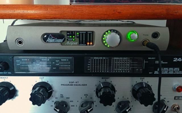 Prism Sound Lyra + Neumann tlm 103 set