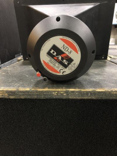 Vendo motores DAS Audio ND-8 con membranas originales