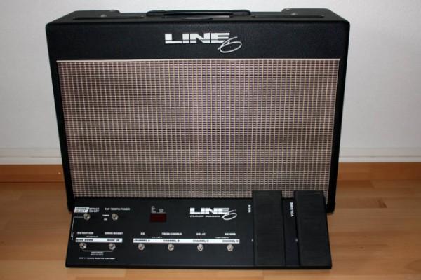 Line6 flextone XL de 100W.