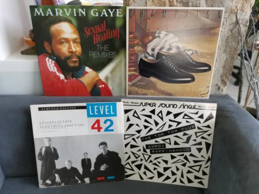 Lote x 4 vinilos Colección Reggae Pop como o nuevos