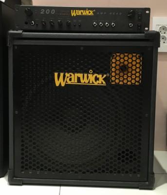 Cabezal y pantalla de 200 w Warwick