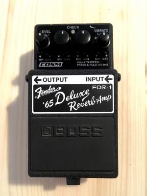 Pedal Boss Fender 65 Deluxe  Reverb Amp