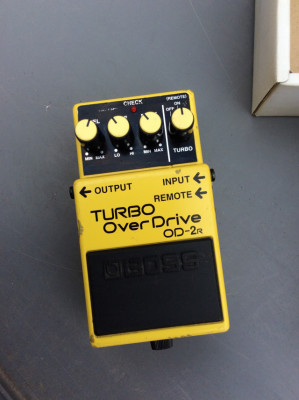 Boss OD-2r Turbo Overdrive Remote