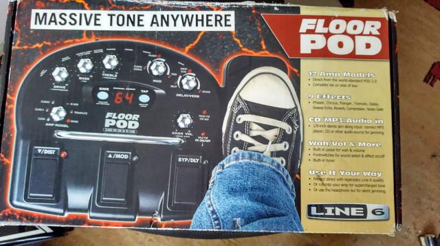 Floor Pod de Line 6