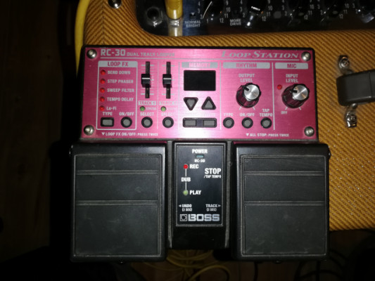 Looper boss rc30